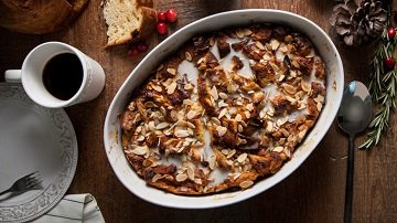 Muesli Bread Pudding