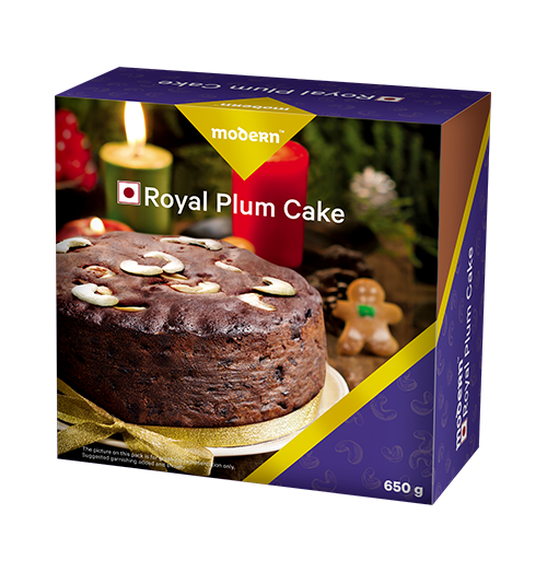 Royal Plum Cake