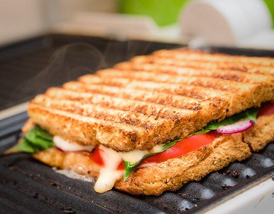 Grated Veggie Sandwich