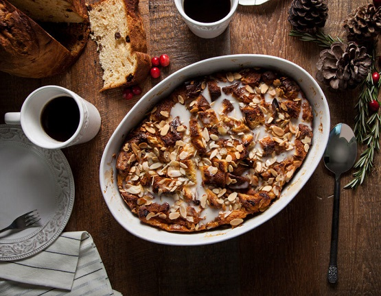 Muesli Bread Pudding