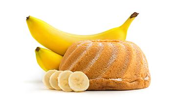 Banana Cake With Bread