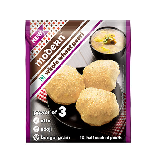 Whole Wheat Poori