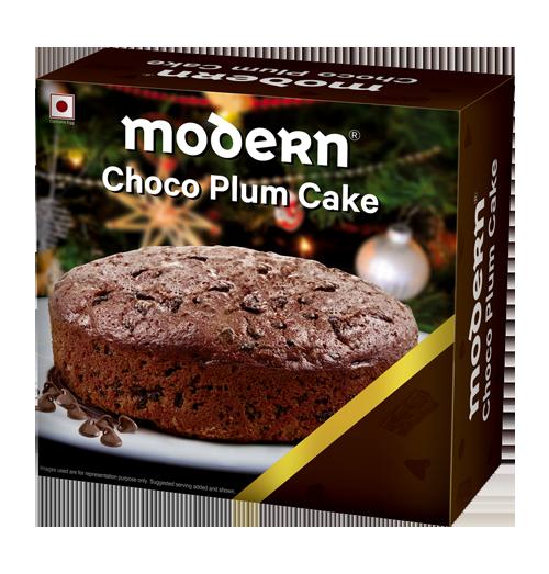 Choco Plum Cake